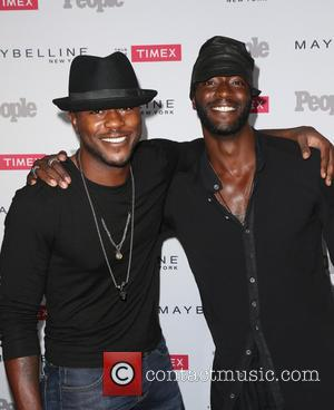 Edwin Hodge and Aldis Hodge