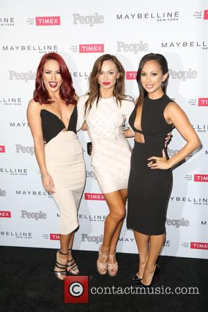 Sharna Burgess, Karina Smirnoff , Cheryl Burke - People magazine's 'Ones to Watch' Party - Arrivals at Ysabel - Los...
