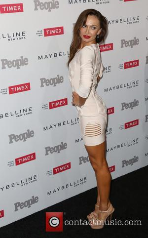 Karina Smirnoff - People magazine's 'Ones to Watch' Party - Arrivals at Ysabel - Los Angeles, California, United States -...