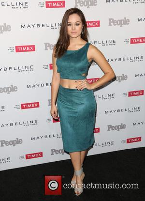 Hayley Orrantia - People magazine's 'Ones to Watch' Party - Arrivals at Ysabel - Los Angeles, California, United States -...