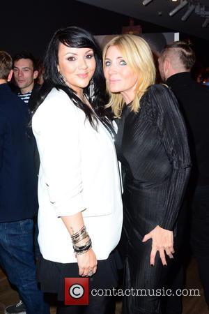 Martine McCutcheon and Michelle Collins