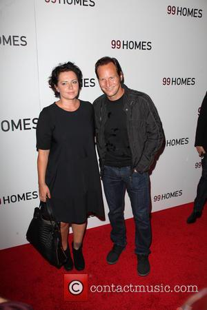 Dagmara Domińczyk , Patrick Wilson - New York premiere of '99 Homes' at AMC Loews Theater - Arrivals - New...