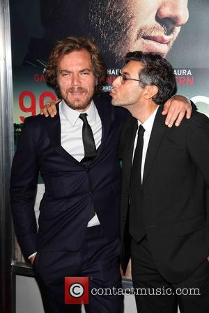 Michael Shannon , Ramin Bahrani - New York premiere of '99 Homes' at AMC Loews Theater - Arrivals - New...