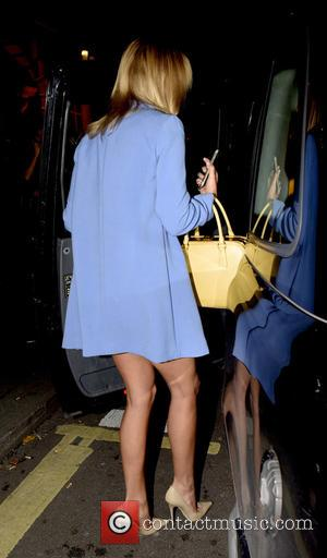 Kimberley Garner - Celebrities leave Annabel's Member's Club in Mayfair at w1 - London, United Kingdom - Thursday 17th September...