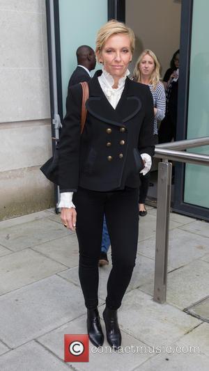 Toni Collette - Professor Green pictured arriving at the Radio 1 studios at BBC Portland Place - London, United Kingdom...