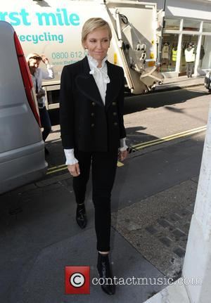 Toni Collette - Drew Barrymore and Toni Collette seen out and about in London at Kiss FM and Capital FM....