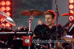 Duran Duran , Roger Taylor - Duran Duran performing live on NBC's Today show - Manhattan, New York, United States...