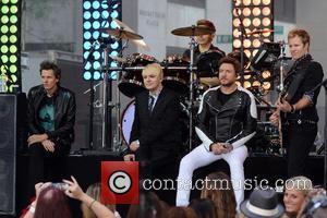Duran Duran, Simon Le Bon, Nigel John Taylor, Nick Rhodes , Roger Taylor - Duran Duran performing live on NBC's...