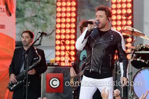 Duran Duran , Simon Le Bon - Duran Duran performing live on NBC's Today show - Manhattan, New York, United...