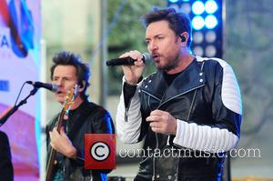 Duran Duran, Simon Le Bon , Nigel John Taylor - Duran Duran perform live on NBC's 'Today' show - NY,...