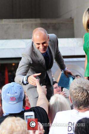 Matt Lauer - Duran Duran perform live on NBC's 'Today' show - NY, New York, United States - Thursday 17th...