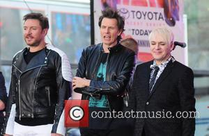 Duran Duran, Nigel John Taylor , Nick Rhodes - Duran Duran perform live on NBC's 'Today' show - NY, New...