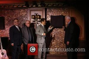 Richard Frankel, Steve Baruch, Michael Feinstein and Tom Viertel
