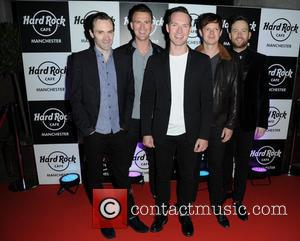The Feeling - Celebrities arrive at the Hard Rock Cafe Manchester for its 15th Anniversary Party - Manchester, United Kingdom...