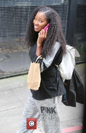 Jamelia - Janelia outside itv studios today - London, United Kingdom - Thursday 17th September 2015