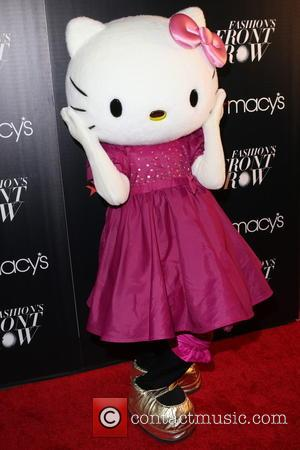 Hello Kitty - Macy's Fashion's Front Row at The Theater at Madison Square Garden - Arrivals at Macy's, Madison Square...