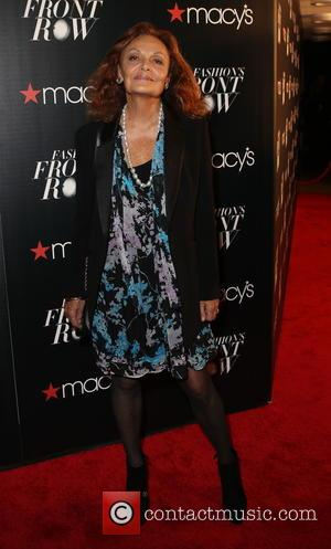 Diane von Fürstenberg - Macy's Fashion's Front Row at The Theater at Madison Square Garden - Arrivals at Macy's, Madison...