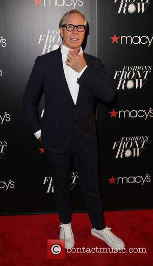 TOMMY HILFIGER - Macy's Fashion's Front Row at The Theater at Madison Square Garden - Arrivals at Macy's, Madison Square...