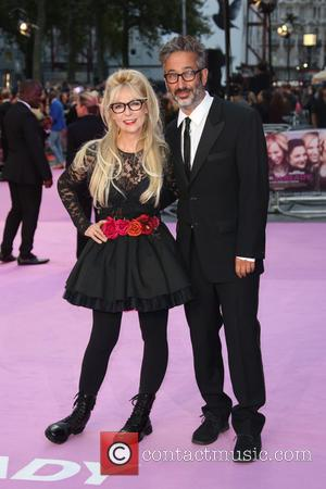 David Baddiel , Morweena Banks - Miss You Already premiere - Arrivals - London, United Kingdom - Thursday 17th September...