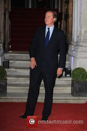 David Cameron - Prince Harry and David Cameron  arrive at Pre Opening dinner. - London, United Kingdom - Thursday...