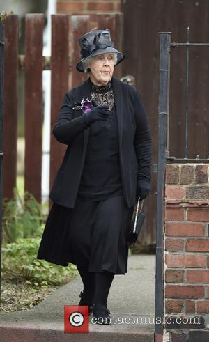 Stephanie Cole - Still Open All Hours Filming A Christmas Special In Doncaster at Filming In Doncaster - Manchester, United...