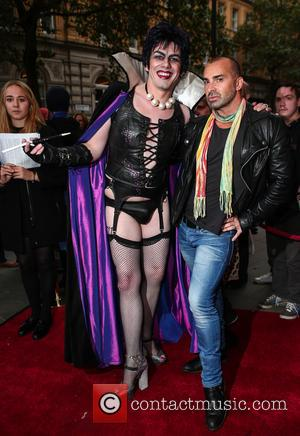 Louis Spence , Frank n Furter - The Rocky Horror Picture Show charity performance -  in aid of Amnesty...