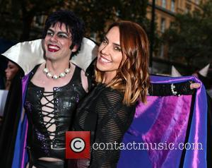 Mel C, Melanie Chisholm , Frank n Furter - The Rocky Horror Picture Show charity performance -  in aid...