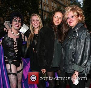 Emily Head, Daisy Head, Sarah Fisher and Frank N Furter