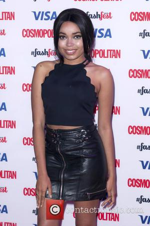Dionne Bromfield - Catwalk to Cosmopolitan, part of Cosmopolitan FashFest, at the Battersea Evolution - Arrivals at Evolution - London,...