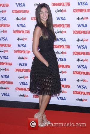 Michelle Keegan - Catwalk to Cosmopolitan, part of Cosmopolitan FashFest, at the Battersea Evolution - Arrivals at Evolution - London,...