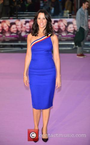 Andrea McLean - European Premiere of 'Miss You Already' held at Vue West End in Leicester Square - Arrivals at...