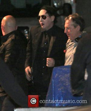 Marilyn Manson - A host of celebrities attend the Hollywood Vampires debut performance at The Roxy on Sunset Boulevard. The...