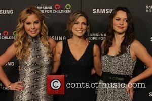 Shannon Miller, Sasha Cohen and Tara Lipinski
