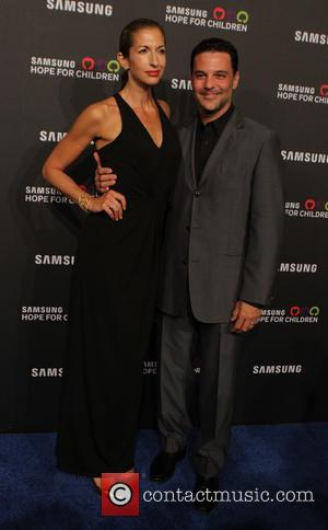 Alysia Reiner and David Alan Basche