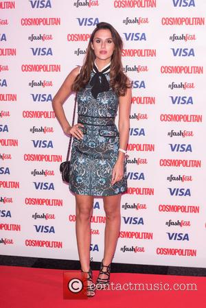 Lucy Watson - Catwalk to Cosmopolitan (part of Cosmopolitan FashFest) at the Battersea Evolution. at Evolution - London, United Kingdom...