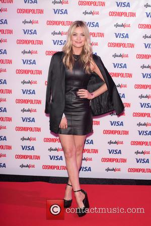 Laura Whitmore - Catwalk to Cosmopolitan (part of Cosmopolitan FashFest) at the Battersea Evolution. at Evolution - London, United Kingdom...