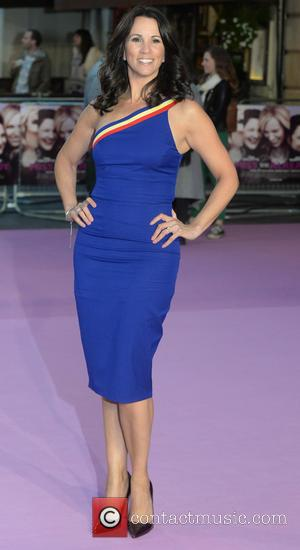 Andrea McLean - The European premiere of 'Miss You Already' held at the Vue West End - Arrivals - London,...