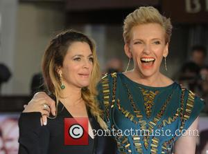Drew Barrymore and Toni Collette