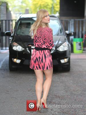 Camilla Kerslake - Camilla Kerslake outside ITV Studios - London, United Kingdom - Thursday 17th September 2015
