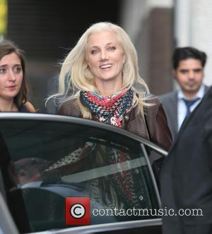 Joely Richardson - Joely Richardson outside ITV Studios - London, United Kingdom - Thursday 17th September 2015