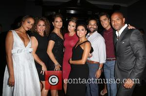 Dania Ramirez, Diana Maria Riva, Alex Meneses, Jadyn Douglas, Eva Longoria, Jose Moreno Brooks, Amaury Nolasco and Izzy Diaz