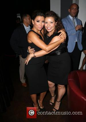 Eva Longoria and Justina Machado