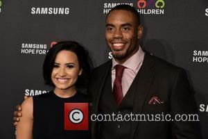 Demi Lovato and Rashad Jennings