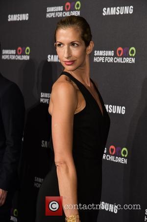 Alysia Reiner - Samsung Hope For Children Gala 2015 - Red Carpet Arrivals at Hammerstein Ballroom - New York City,...