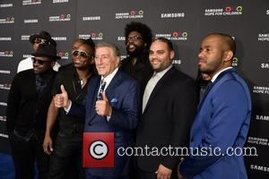 Tony Bennett , members of the Roots - Samsung Hope For Children Gala 2015 - Red Carpet Arrivals at Hammerstein...