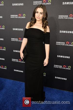 Sophie Simmons - Samsung Hope For Children Gala 2015 - Red Carpet Arrivals at Hammerstein Ballroom - New York City,...