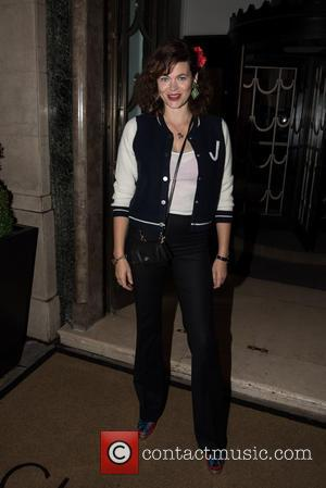 Jasmine Guinness - London Fashion Week Spring/Summer 2016 - De Beers - Moments in Lights launch party and private concert...