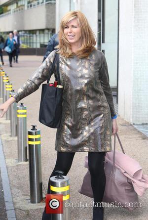 Kate Garraway - Kate Garraway outside ITV Studios - London, United Kingdom - Friday 18th September 2015