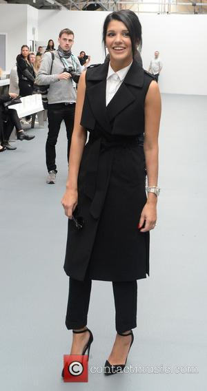 Natalie Anderson - London Fashion Week Spring/Summer 2016 - Bora Aksu - Front Row at London Fashion Week - London,...
