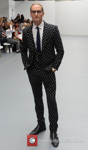 Oliver Proudlock - London Fashion Week Spring/Summer 2016 - Bora Aksu - Front Row at London Fashion Week - London,...